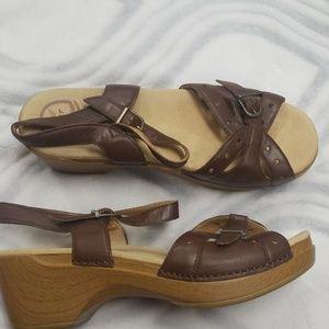 Dansko brown sandals 40 us 9